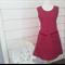 Tunic Dress Pocket Dress Maroon Dress